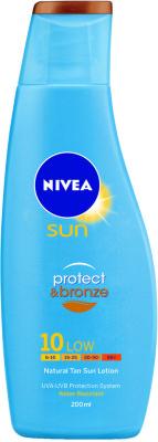 Nivea Protect & Bronze Lotion  SPF10 200ml