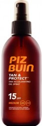 Piz Buin Tan & Protect Oil Spray SPF15
