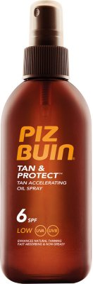 Piz Buin Tan & Protect Oil Spray SPF6