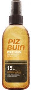 Piz Buin Wet Skin Transparent Sun Spray SPF15