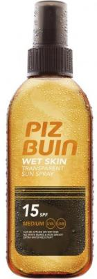 Piz Buin Wet Skin Transparent Sun Spray SPF15