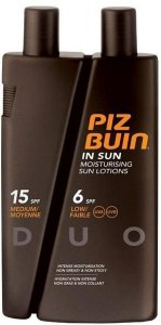 Piz Buin In Sun Lotions SPF6/15