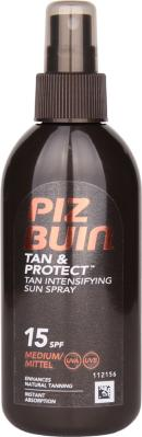 Piz Buin Tan & Protect Tan Intensifier Sun Spray SPF15 150ml