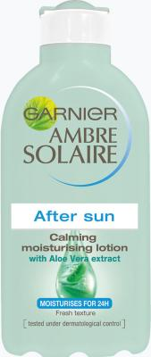 Garnier Ambre Solaire After Sun Calming Moisturising Lotion With Aloe Vera 200ml