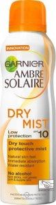 Garnier Ambre Solaire Dry Mist SPF10 200ml
