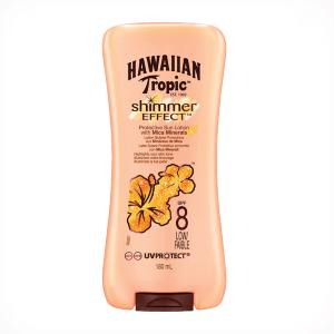 Hawaiian Tropic Shimmer Effect Lotion SPF8 180ml