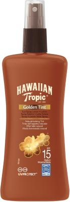 Hawaiian Tropic Golden Tint Spray SPF15 200ml