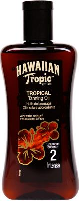 Hawaiian Tropic Tanning Oil Intense SPF2 200ml