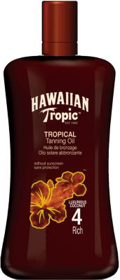 Hawaiian Tropic Tanning Oil Rich SPF4 200ml
