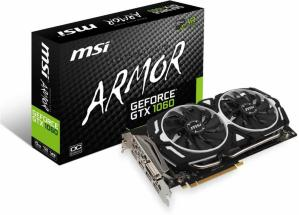 MSI GeForce GTX 1060 Armor 6G OC