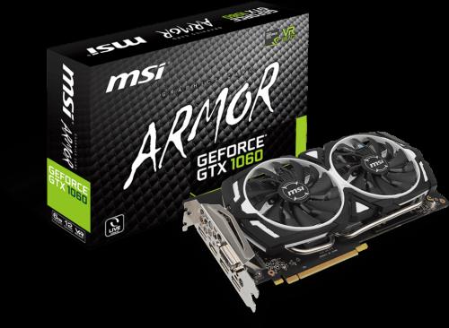 MSI GeForce GTX 1060 Armor 6G