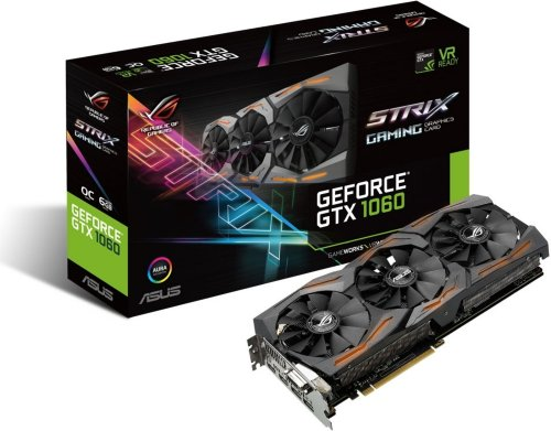 Asus GeForce GTX 1060 Strix Gaming OC