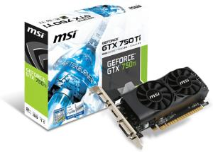 MSI GeForce GTX 750Ti 2GB Low Profile