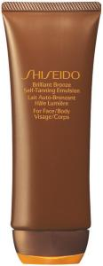 Shiseido Brilliant Bronze Self-Tanning 100ml