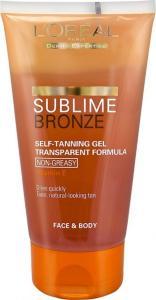 L'Oreal Sublime Bronze Transparent Gel 150ml