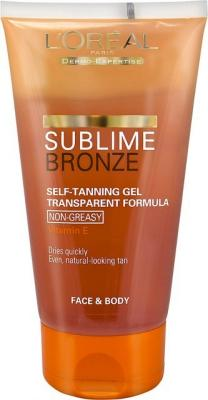 L'Oreal Sublime Bronze Transparent Gel 150ml