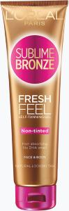 L'Oreal Sublime Bronze Fresh Feel Self Tanning Gel 150ml