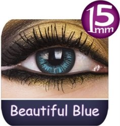 Phantasee Big Eyes Fargede Linser 2p