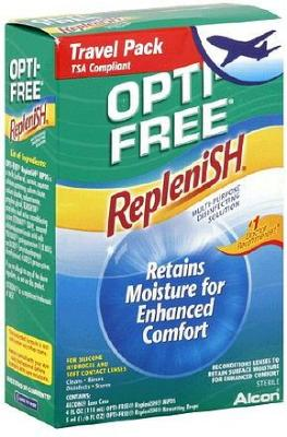 Alcon Opti-Free RepleniSH Travel Pack 90