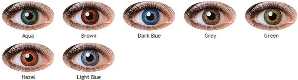 Cooper Vision Expressions Colors Singles