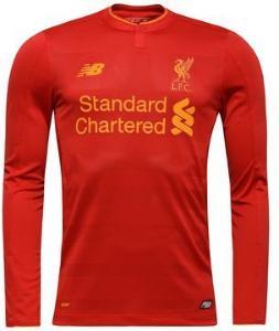 New Balance Liverpool Hjemmedrakt 2016/17 Langermet (Unisex)