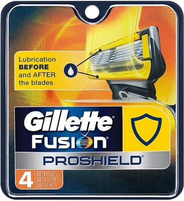 Gillette Proshield Yellow 4 Stk