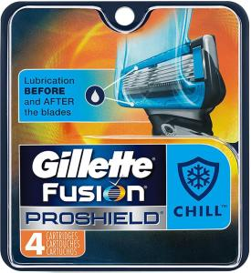 Gillette Proshield Blue 4 Stk