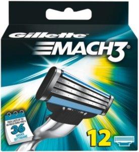 Gillette Mach3 12 stk