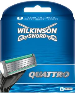 Wilkinson Sword Quattro 8 Stk