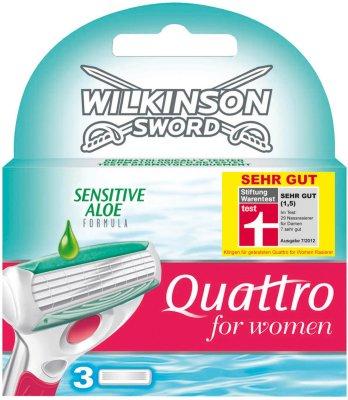 Wilkinson Sword Quattro Sensitiv 3 Stk