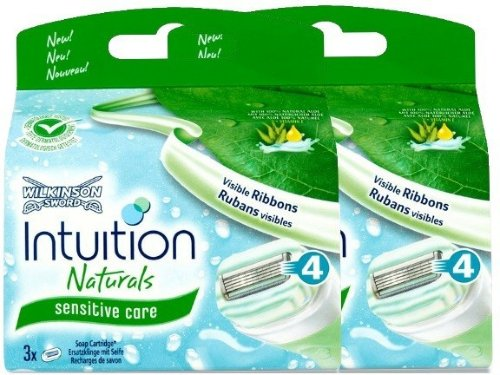Wilkinson Sword Intuition Naturals Sensitive Core 6 Stk