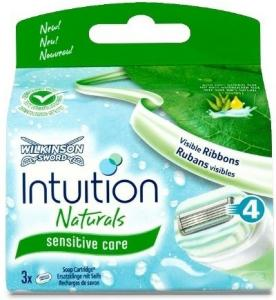 Wilkinson Sword Intuition Naturals Sensitive Core 3 Stk