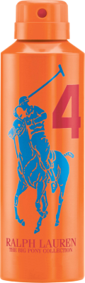 Ralph Lauren Big Pony #4 Orange Spray 200ml