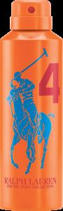 Ralph Lauren Big Pony #4 Orange Spray 200ml