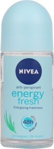 Nivea Energy Fresh Roll-On Deodorant 50ml