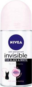 Nivea Invisible Black & White Clear Roll-On 50ml