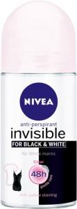 Nivea Invisible Black & White Clear Roll-On 50ml