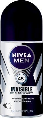 Nivea Men Invisible Black & White Roll-On Deodorant 50ml