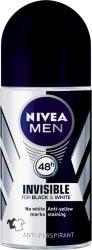 Nivea Men Invisible Black & White Roll-On Deodorant 50ml
