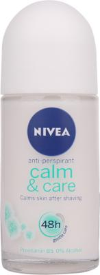 Nivea Calm & Care Roll-On Deodorant 50ml
