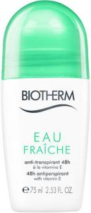 Biotherm Eau Fraiche Roll-On Deodorant 75ml