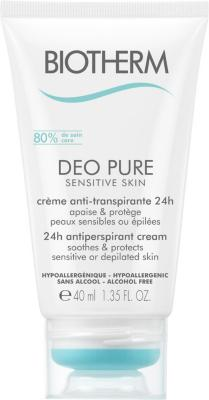 Biotherm Deo Pure Sensitive Cream Deodorant 40ml