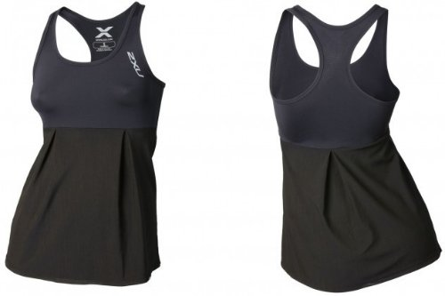 2XU Double Layer Compression Singlet (Dame)