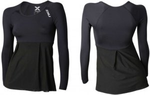 2XU Double Layer Compression LS Top (Dame)