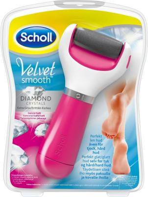 Scholl Velvet Smooth Diamond Crystals Foot File