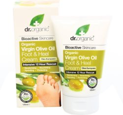 Dr Organic Foot & Heel Cream 125ml