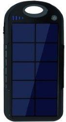 Powerbank som lades med solceller