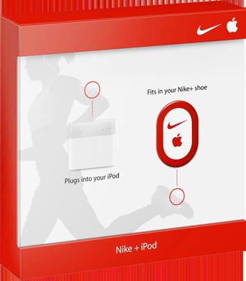 Nike+ Ipod/Iphone Sensor med Overføringskit