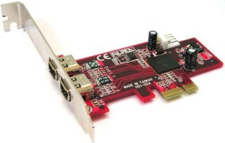 LyCOM PE-101 1394a 2Ports Low Profile