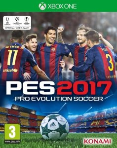 Pro Evolution Soccer 2017 til Xbox One